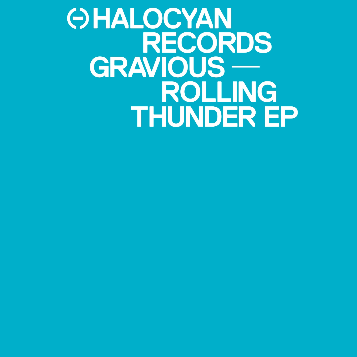 Gravious-Rolling-Thunder-Halocyan-Records-artwork