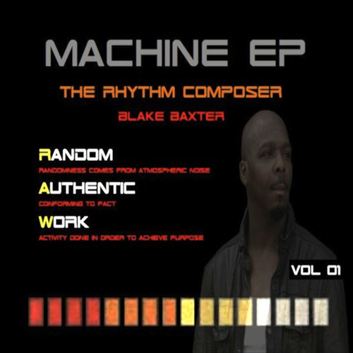 Blake Baxter - The Rhythm Composer Machine EP