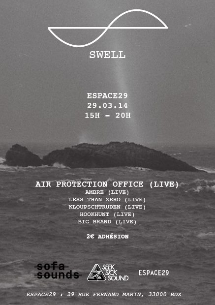 Seeksicksound - Swell Air Protection Office Espace 29