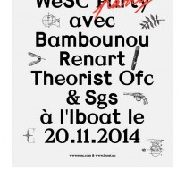 Seeksicksound - Wesc Party Bambounou