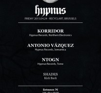 Seeksicksound - Hypnus Label Night Bruxelles