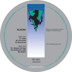 Slackk Backwards Light EP RS Records Artwork