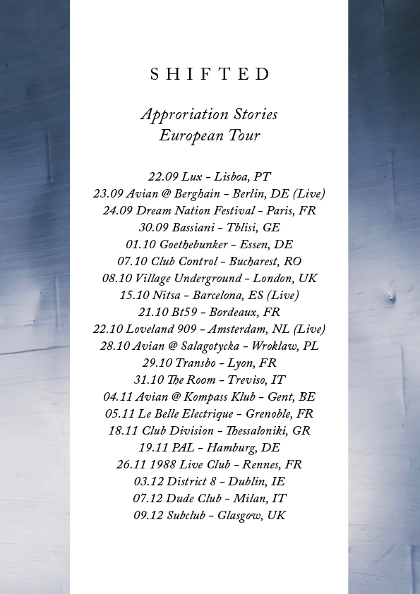 shifted-appropriation-stories-european-album-tour