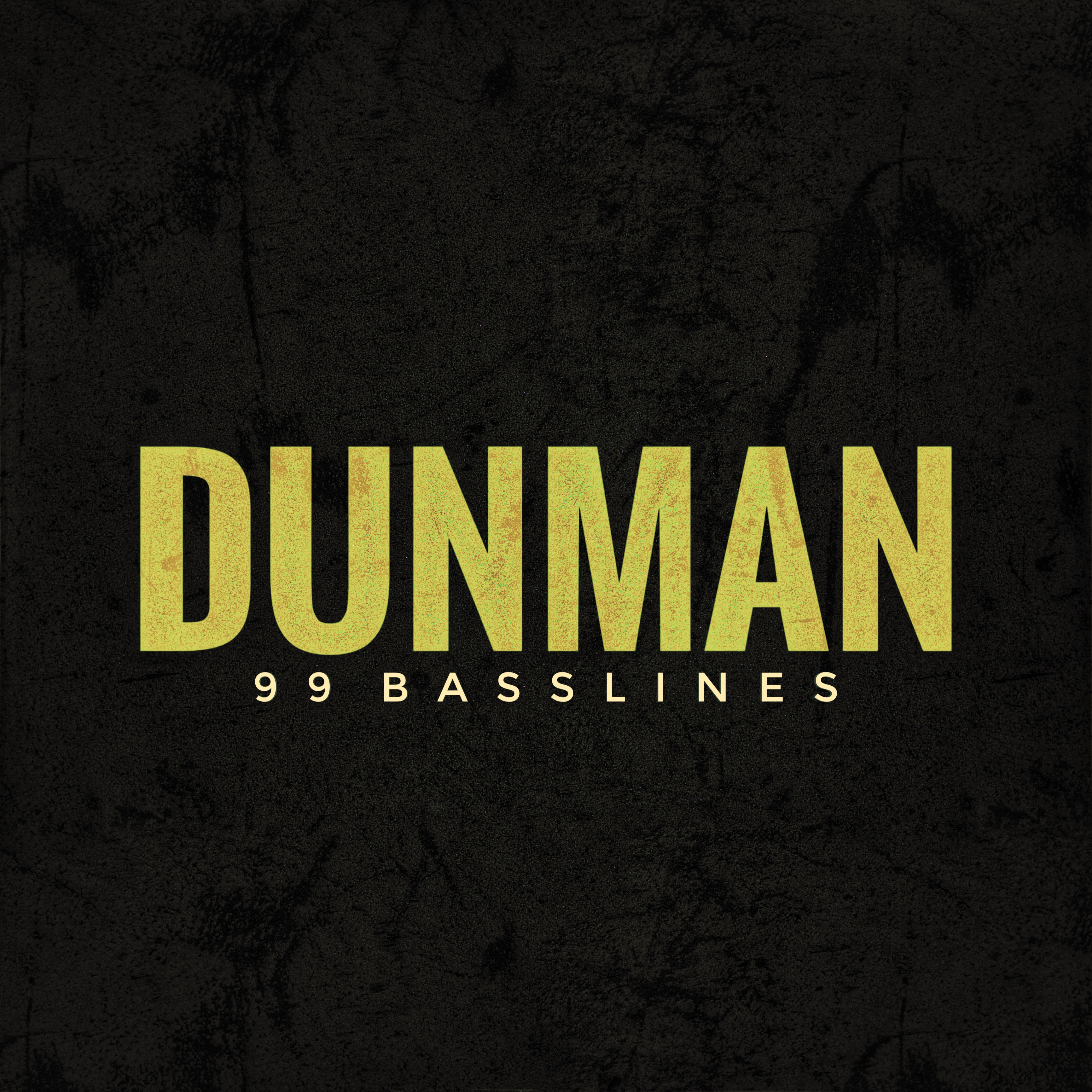 Dunman 99 Basslines Artwork